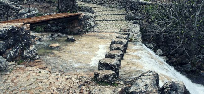 Escaleras del Barranco de Biniaraix